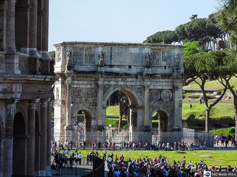 Arco de Constantino - O que fazer em Roma, Itália