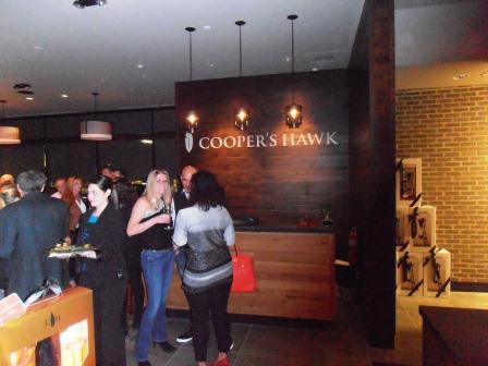 Cooper S Hawk Is An Upscale Combination Restaurant Wine Tasting Room And Bar At The Soft Opening We Tried A Few Of Wines Several Small Bites