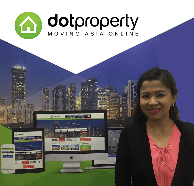 Tanya Peralta-Yu, the Country Manager of Dot Property Philippines