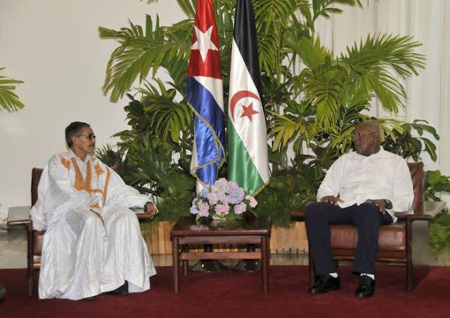 نائب الرئيس الكوبي يستقبل رئيس المجلس الوطني الأخ خطري ادوه