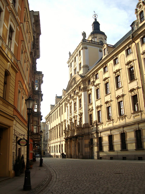 Spacer po Wrocławiu. Wrocław moje miasto.