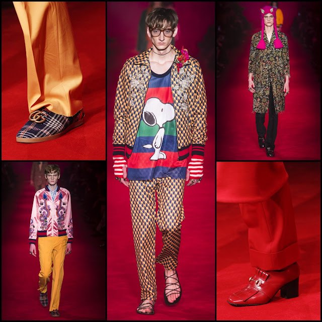 RUNWAY REPORT.....Fall/Winter 2016 Men's Fashion Week Milan: GUCCI Mens Fall/Winter 2016