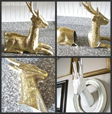 , DIY Deer Head Sculpture…
