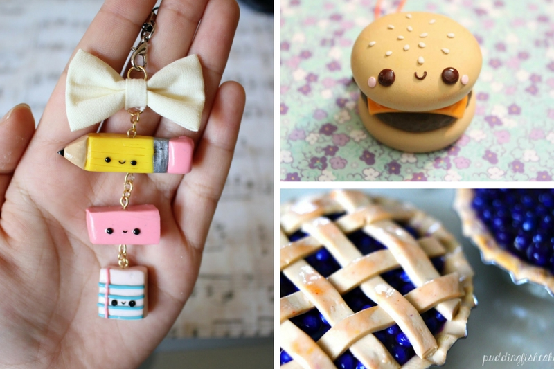 10 Polymer Clay Tutorials And Ideas That Looks Awesome - Polymer Clay, Polymer Clay Charms, Polymer Clay Charm Tutorials, DIY Crafts, DIY Ideas, Polymer Clay Ideas