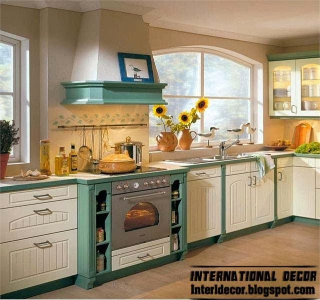 Country style kitchens 15 the best kitchens in country - Country style kitchen cabinets ...