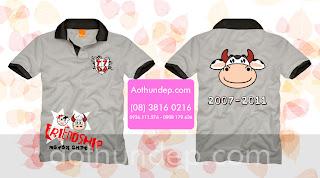 áo lớp cổ trụ màu xám ALCC19