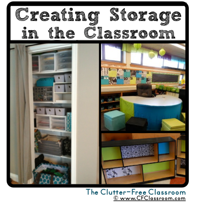 While My Number One Tip For Classroom Organization Is To Purge Any And All  Unnecessary Items From Your Environment, There Will Still Be A Large Amount  Of ...