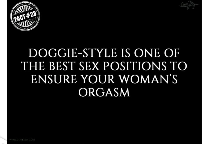 Interesting orgasm facts
