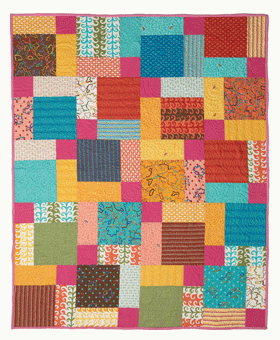 Modern Patchwork Quilt Patterns Free : Quilt Inspiration: Free pattern day: Easy Modern Quilts (1)