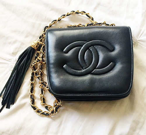 vintage chanel crossbody bag