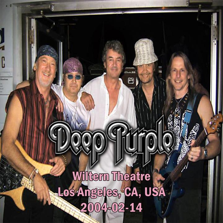 CD Bootleg By Deer 5001: Deep Purple - 2004-02-14 - Wiltern Theatre