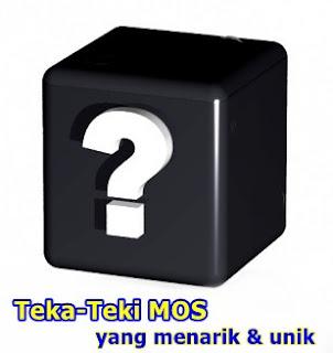 ILUSTRASI TEKA-TEKI MOS