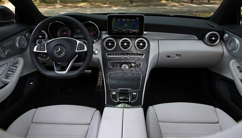2018 Mercedes-Benz C300 Cabriolet Interior
