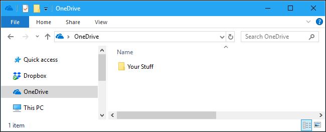 memorizzare i file in OneDrive sul PC
