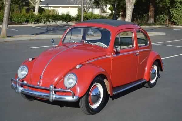 1962 Volkswagon Beetle Ragtop