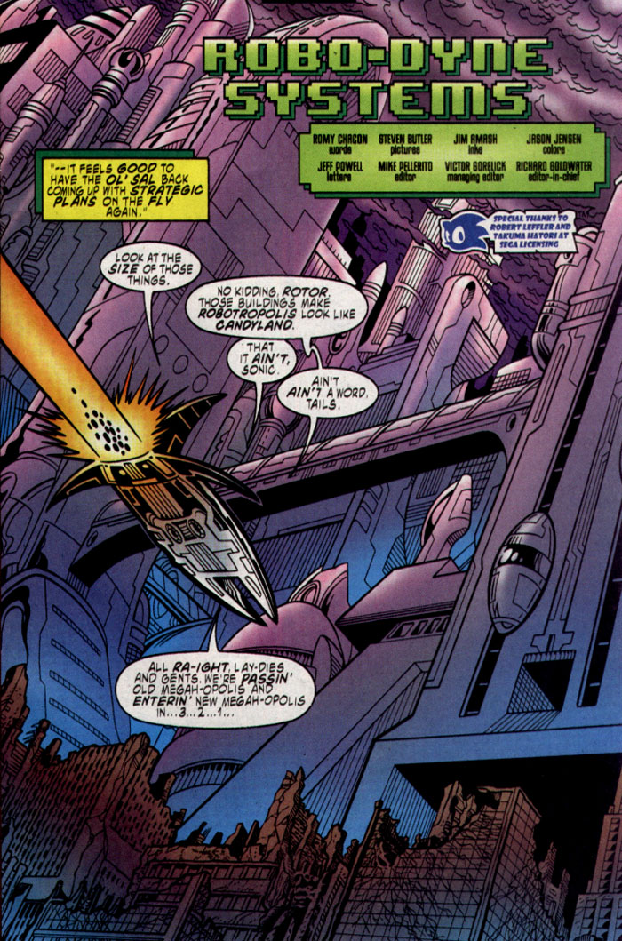 Read online Sonic The Hedgehog comic -  Issue #137 - 4