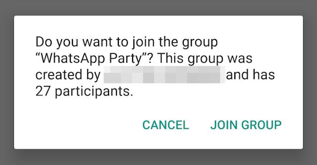 واتساب تبدأ في تفعيل نظام الدعوات الجديد للمجموعات