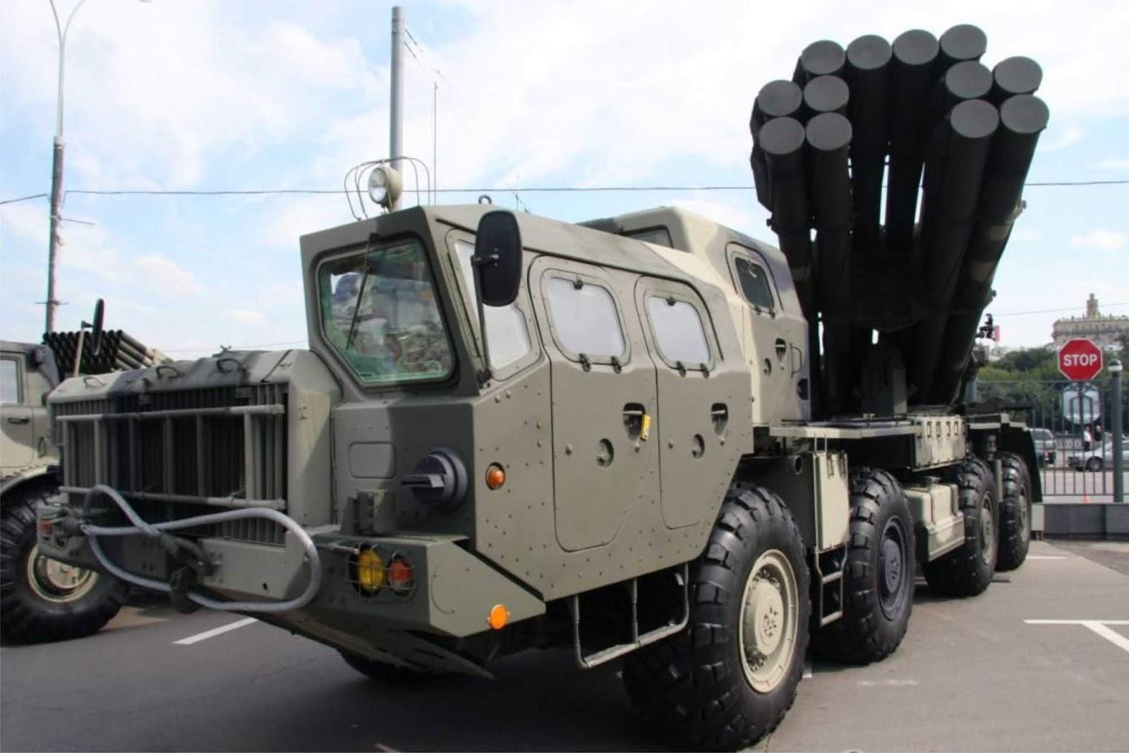 Tentara Rusia menerima MLRS berkaliber besar baru