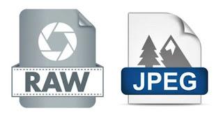 Format RAW dan JPEG