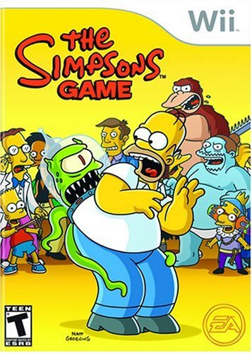 The Simpsons Game USA Wii ISO