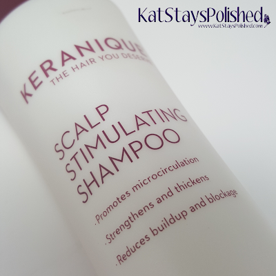 Keranique Scalp Stimulating Shampoo | Kat Stays Polished