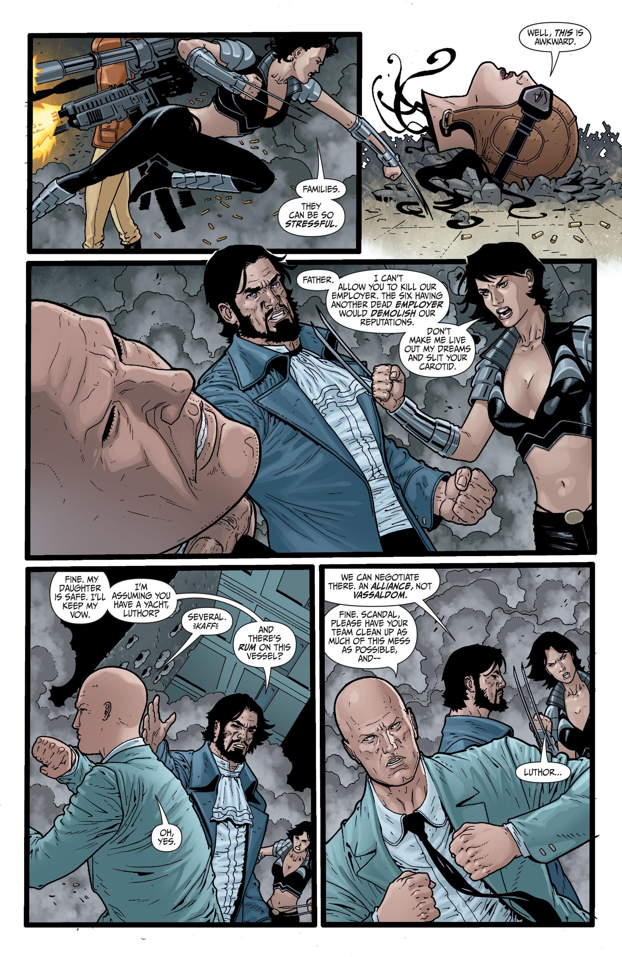 Read online Secret Six (2008) comic -  Issue #29 - 18
