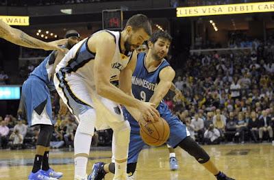 Minnesota Timberwolves vs Memphis Grizzlies