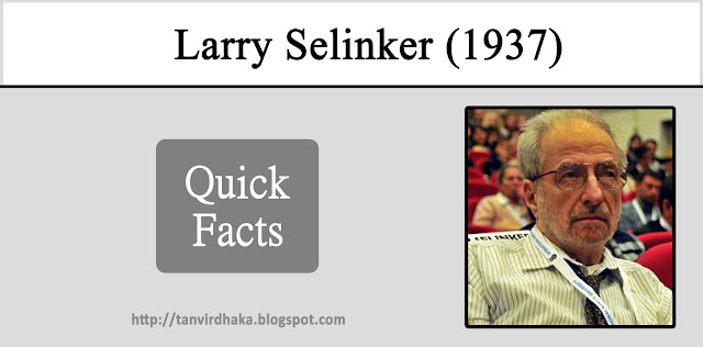 Larry Selinker Quick Facts