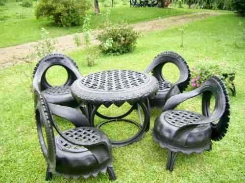 mesa de pneu