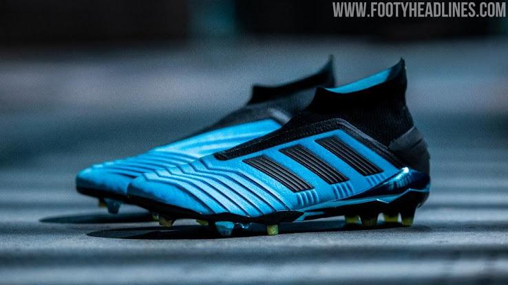 halvin parhaat kengät miten ostaa Bright Cyan Adidas Predator 19+ 'Hard Wired' Pack Boots ...