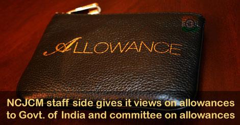 allowances NC JCM