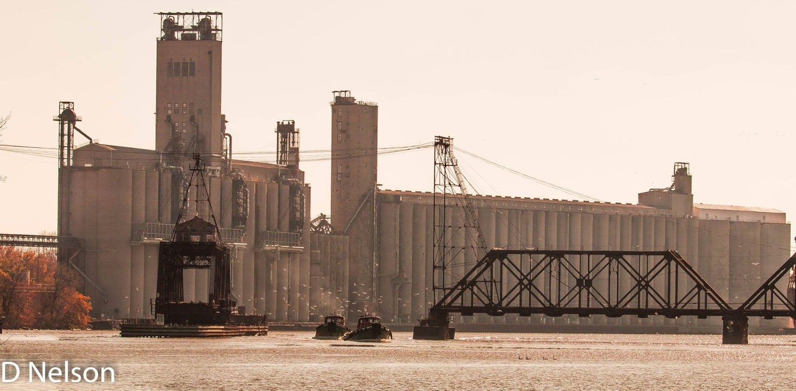 Towns and Nature: Toledo, OH: ADM Grain Elevator