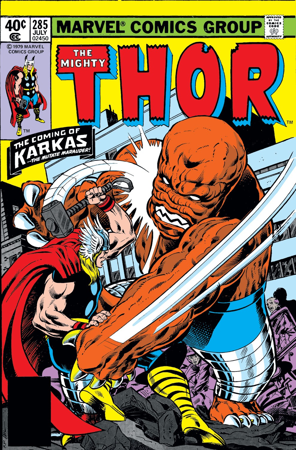 Thor (1966) 285 Page 1