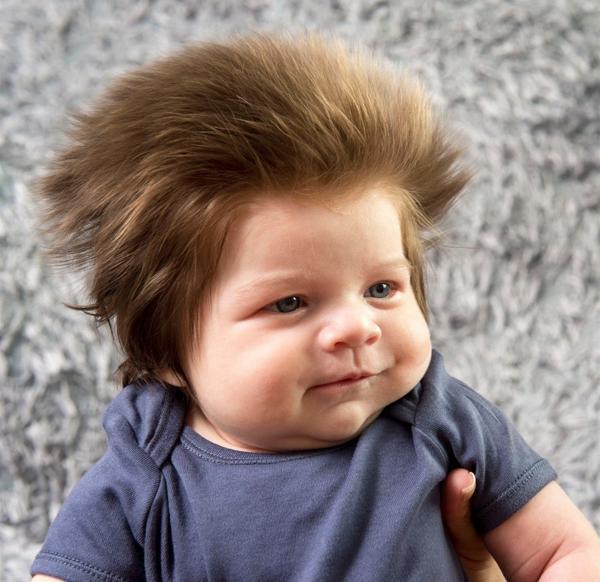 cabellos erizado