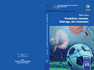Download Buku Guru Pendidikan Jasmani Olahraga dan Kesehatan (Penjasorkes/PJOK) Kelas Tujuh (VII/7), Delapan (8/VIII), Sembilan (IX/9) Kurikulum 2013 pdf