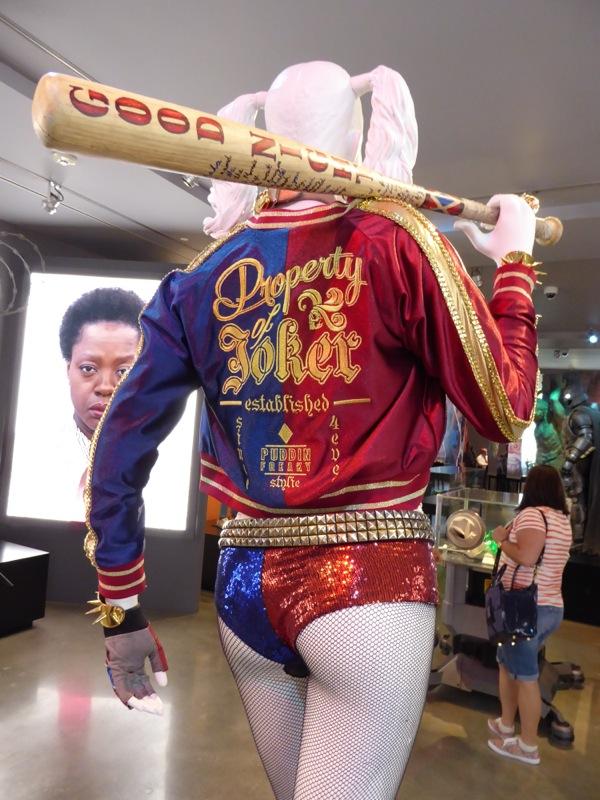 Harley Quinn costume jacket baseball bat Suicide Squad