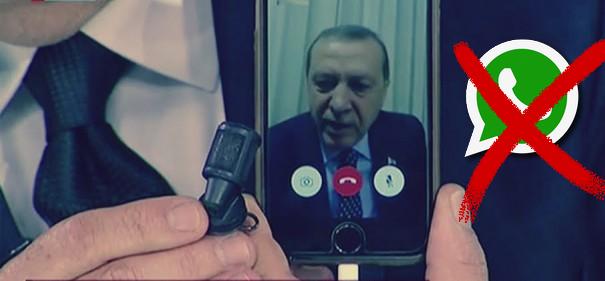 واتساب هو السبب في تنفيذ انقلاب تركيا !