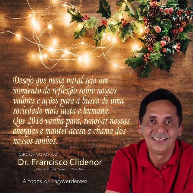 Resultado de imagem para dr francisco clidenor feliz ano novo