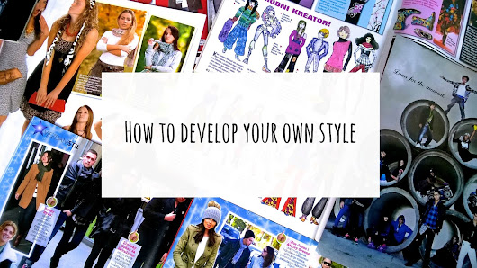 How to develop your own style