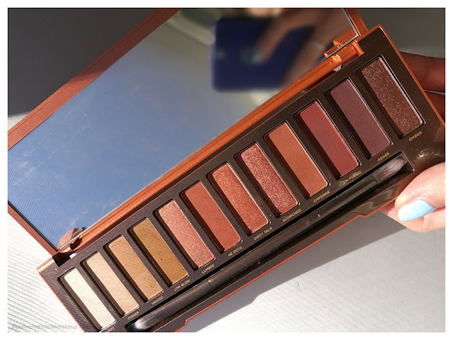 Palette Naked Heat Urban Decay Shades