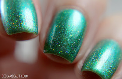 Top Shelf Lacquer Let the Evening Be Gin! | Bright Shimmers Collection