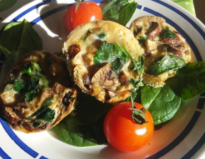 paleo egg muffins recipe raw rhubarb fit food and recipes