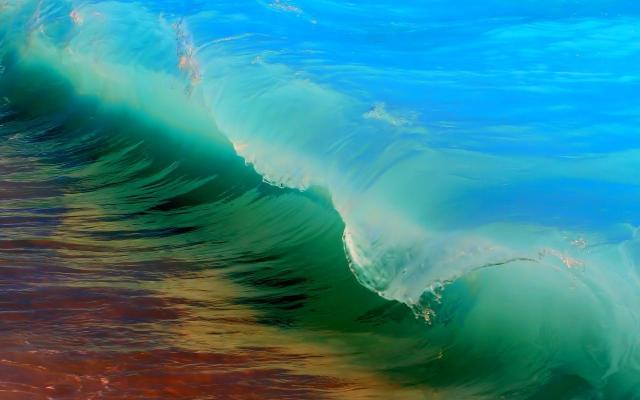 Colourful Wave Wallpaper Samsung Galaxy Tablets Wallpapers