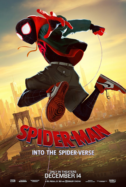 Spiderman SpiderVerse Movie Poster