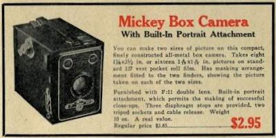 Mickey Box Camera