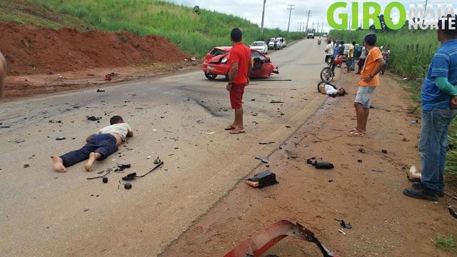 Vicência: Grave acidente é registrado na PE-074