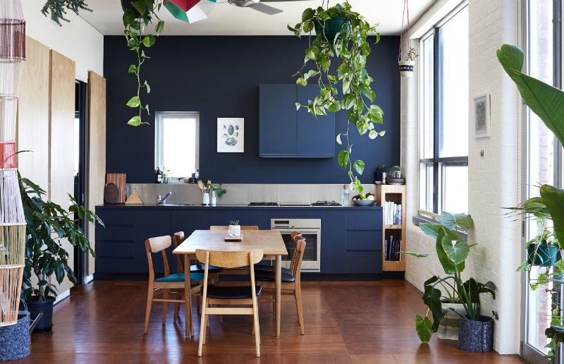 Espacios decorados en color negro by Habitan2 | Estilo escandinavo en vivienda australiana con toques en negro