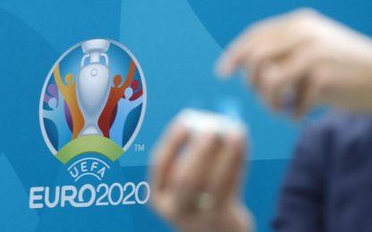 Il sorteggio di Euro 2020