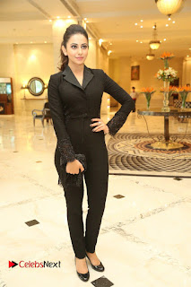 Actress Rakul Preet Singh Pictures at 63rd Britannia Filmfare Awards 2016 Press Meet  0200.JPG