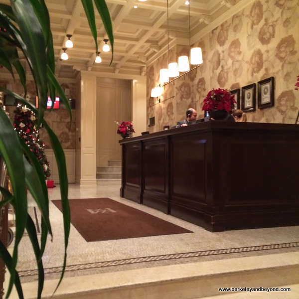 lobby of Hotel Wales in NYC